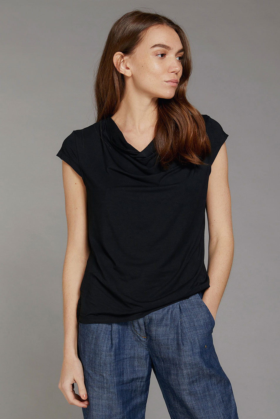 SENSA Bamboo Top Black