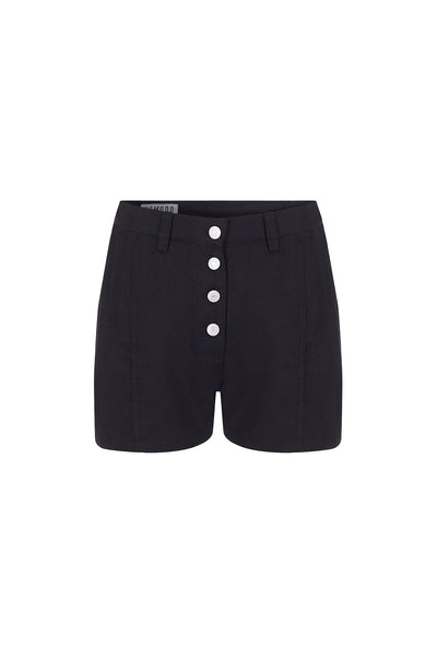 SWINGBOB Tencel Linen Short Coal - Komodo Fashion