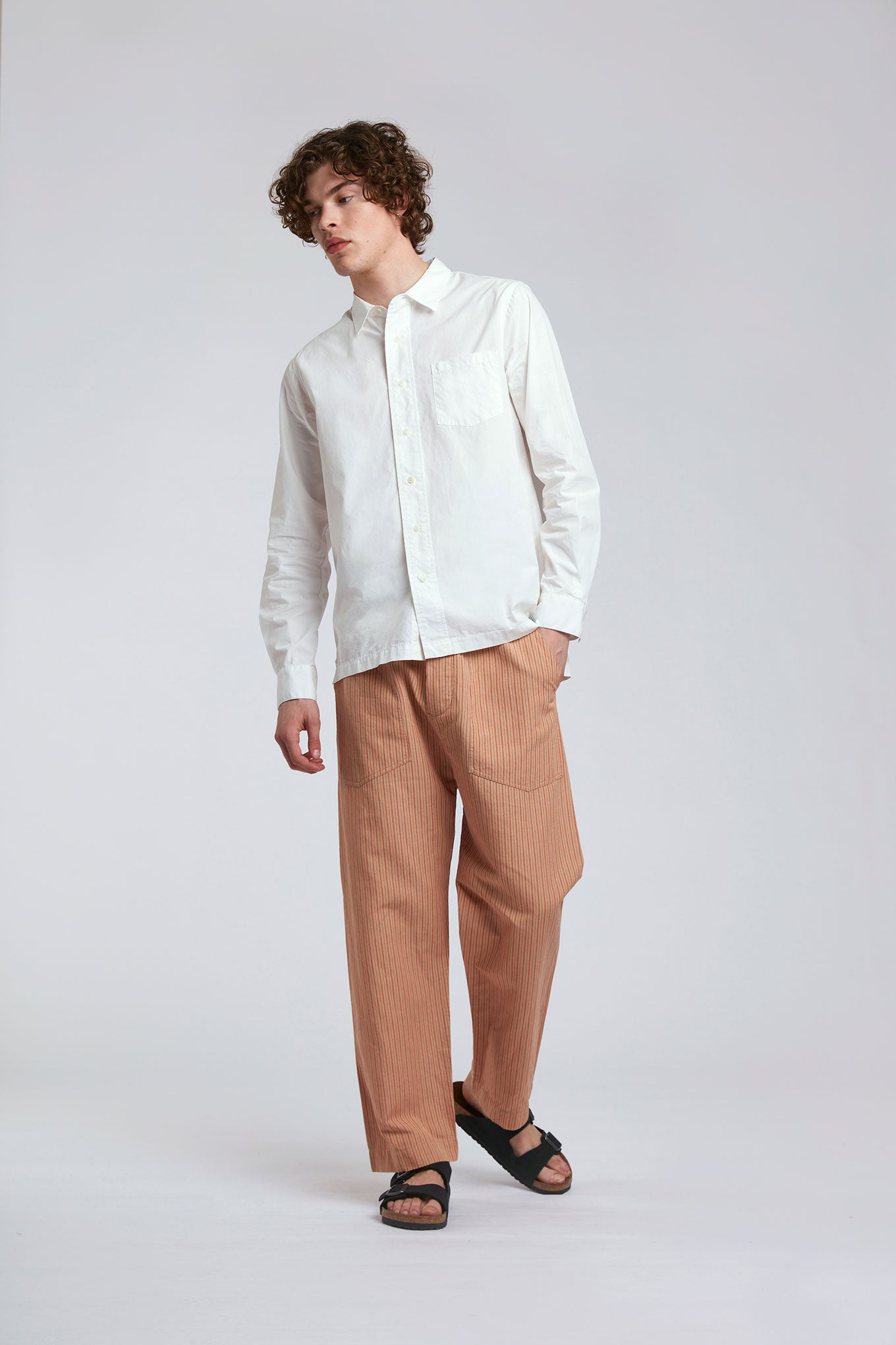 MEXICOLA - Organic Cotton Trousers Lava