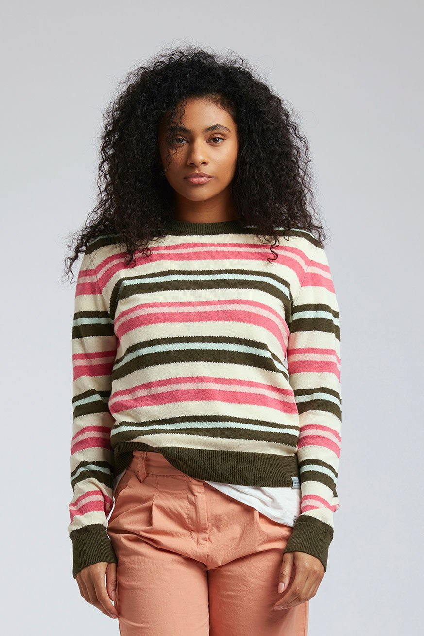 TRIP - GOTS Organic Cotton Jumper Rasberry