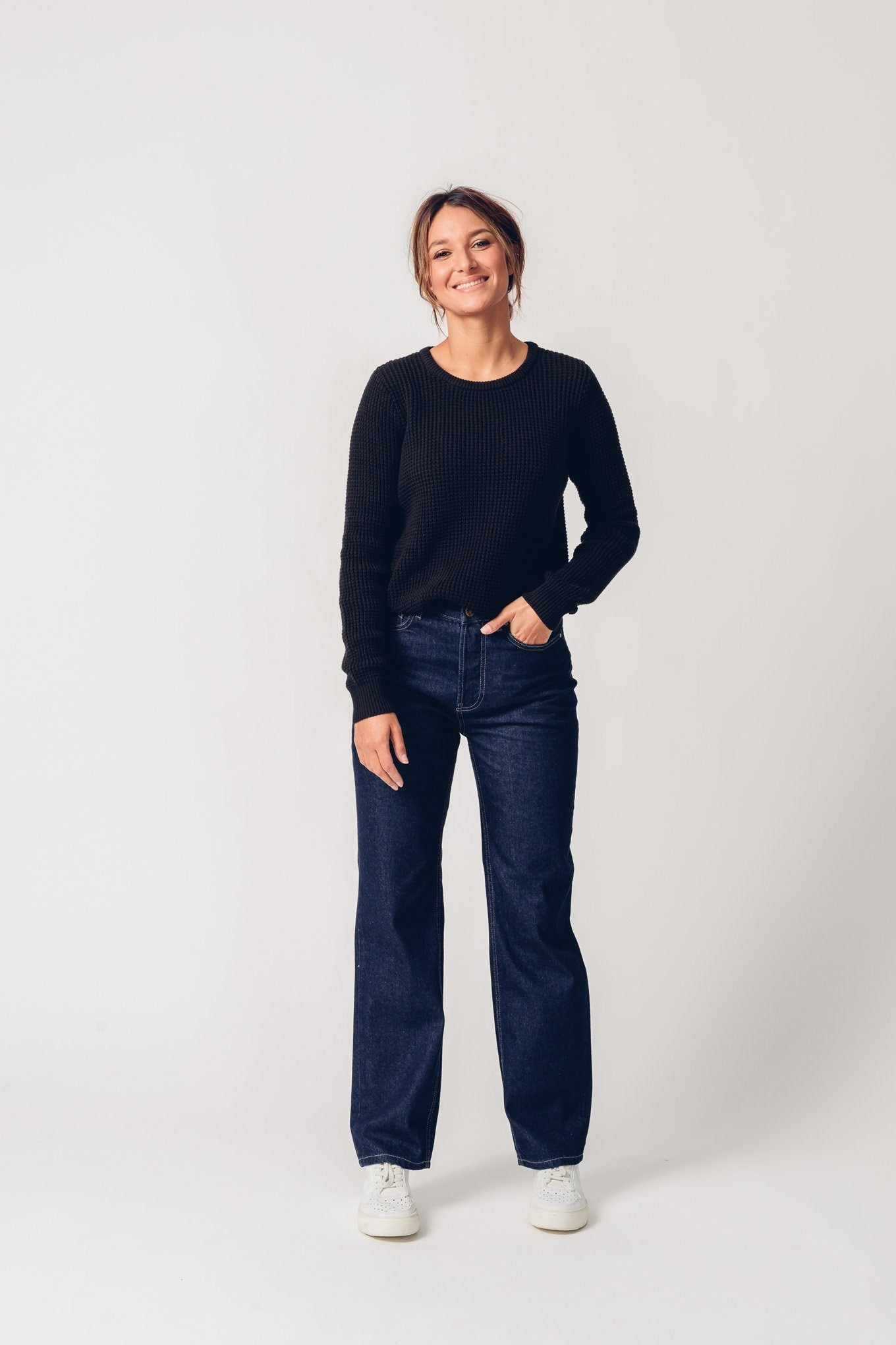 MAYA rinse organic cotton Jeans by UCM - Komodo Fashion