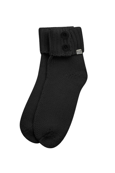 BIBA Merino Wool Socks Black - Komodo Fashion