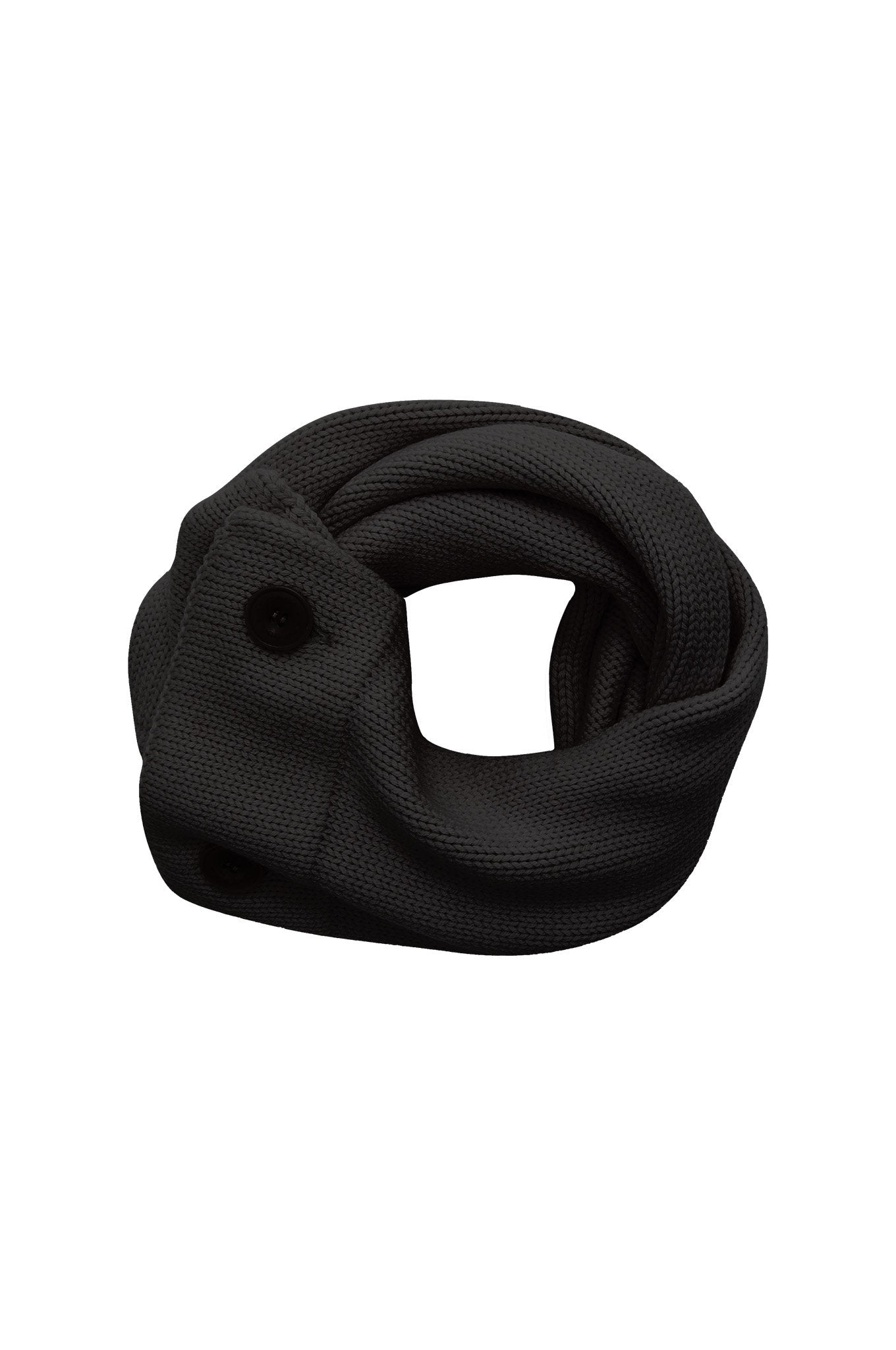 Accessories - ELI Merino Wool Snood Black