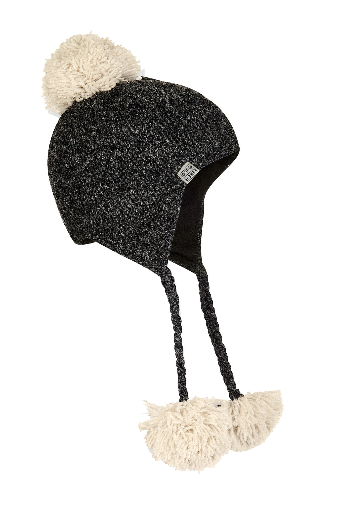 ELO Recycled Wool Hat Coal - Komodo Fashion