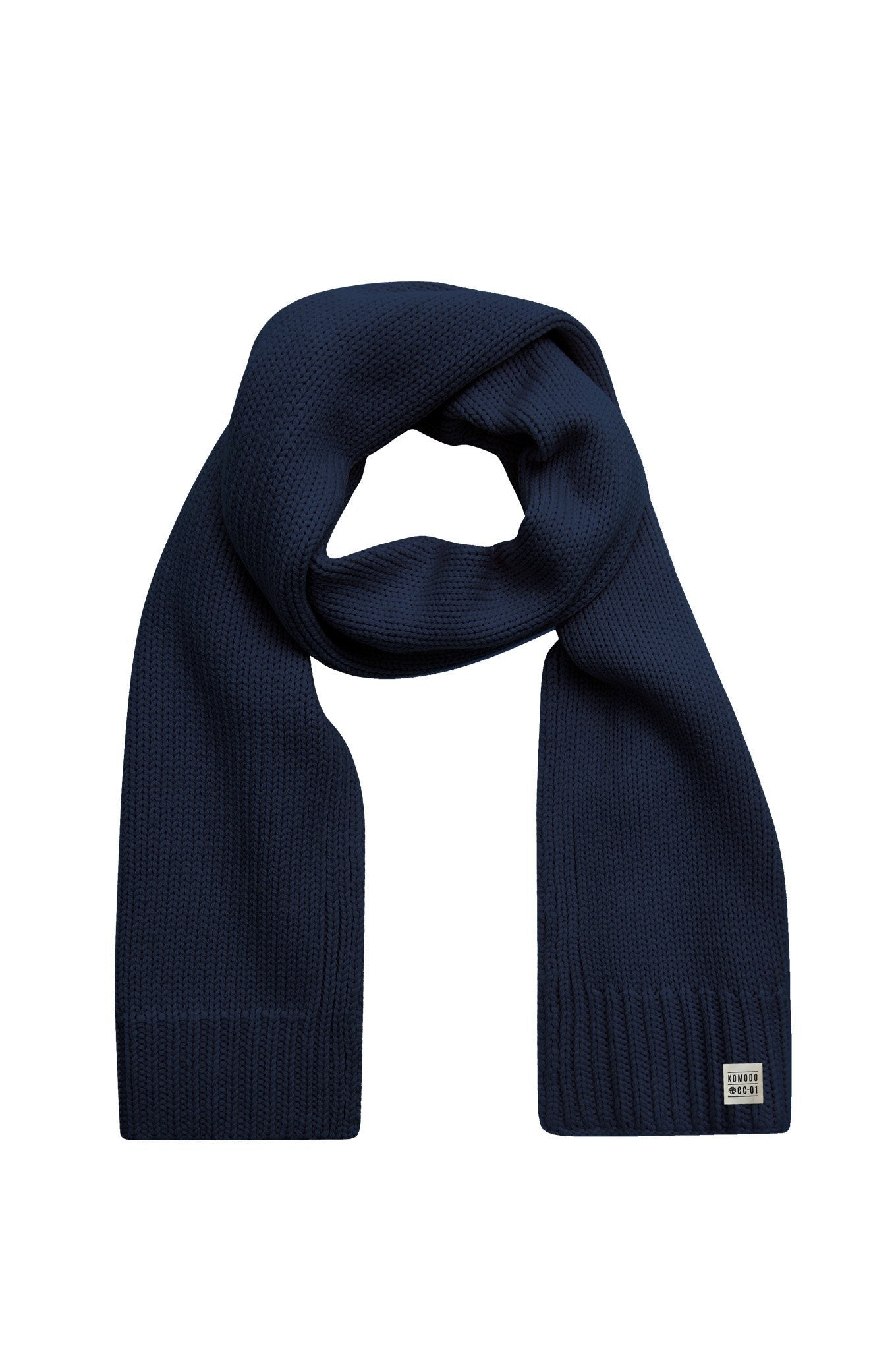Accessories - RIM Merino Wool Scarf Navy