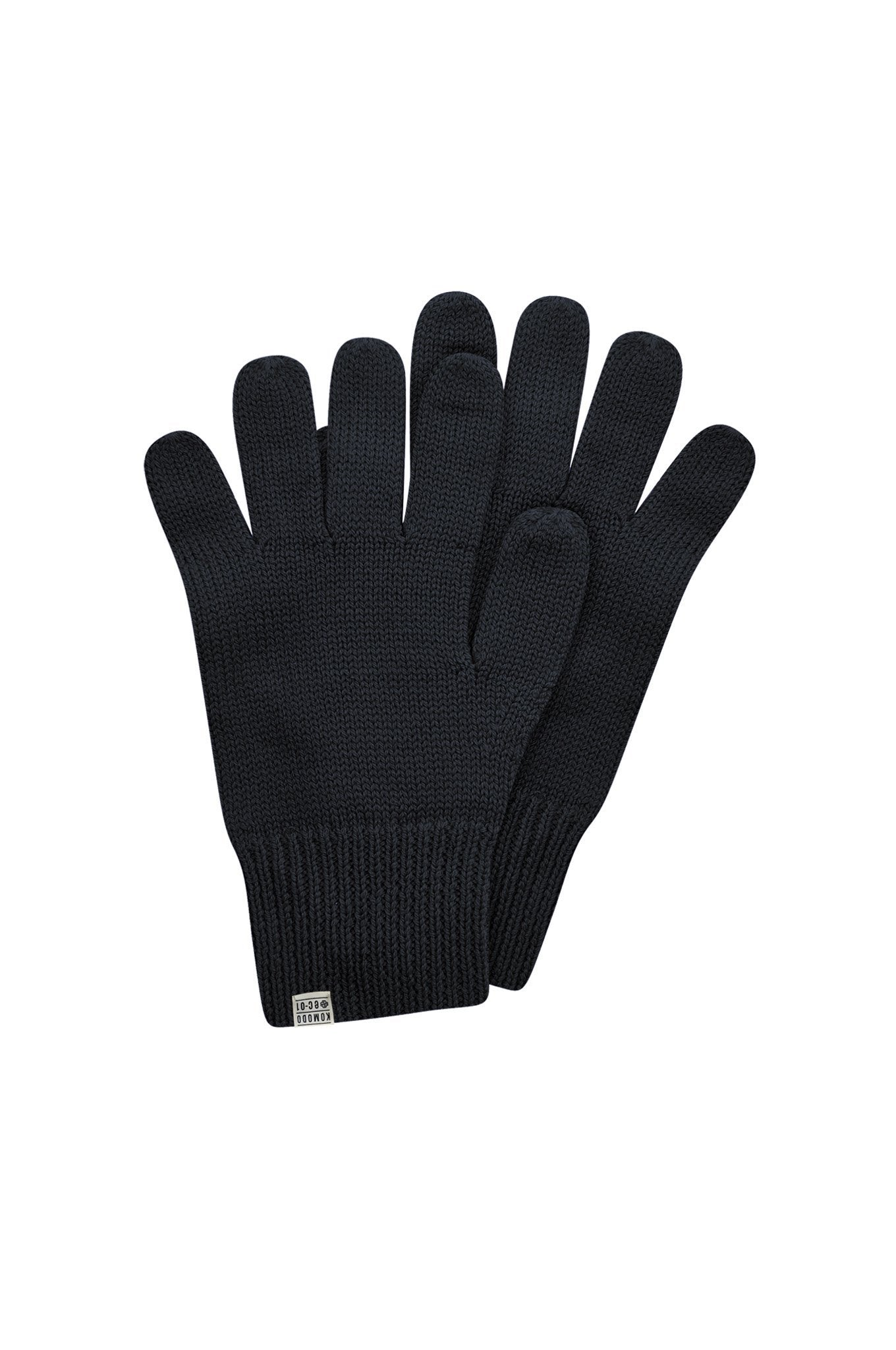 TORN Merino Wool Gloves Black - Komodo Fashion