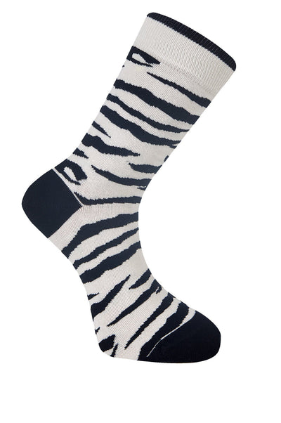 ANIMAL Zebra Organic Cotton Socks - Komodo Fashion