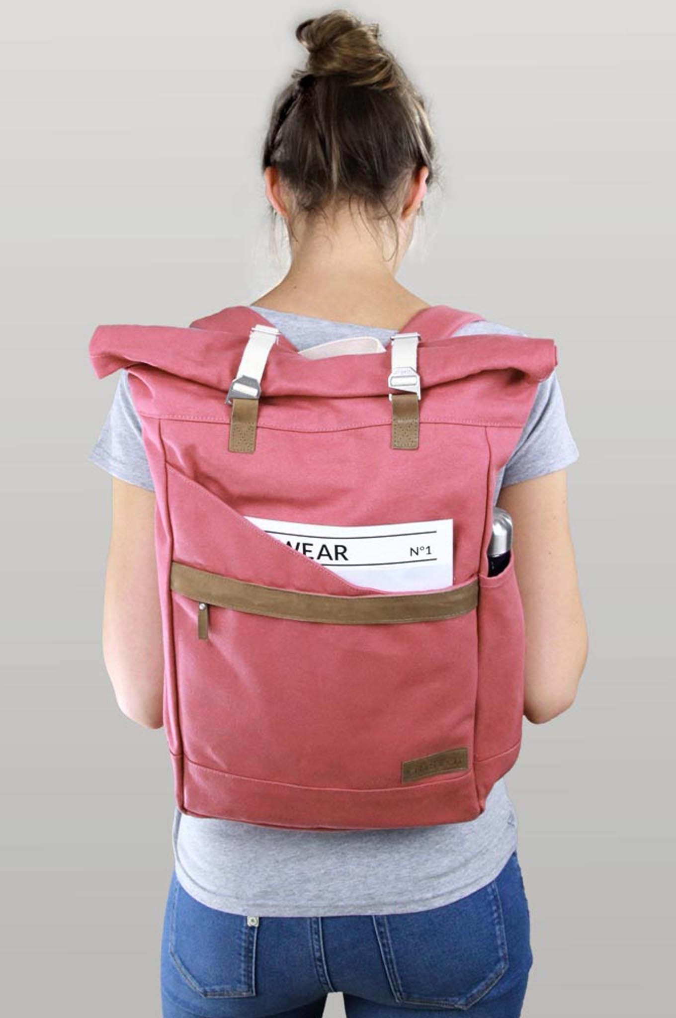 Bag - Backpack Ansvar I Vintage Red