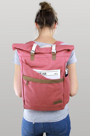 Backpack Ansvar I Vintage Red