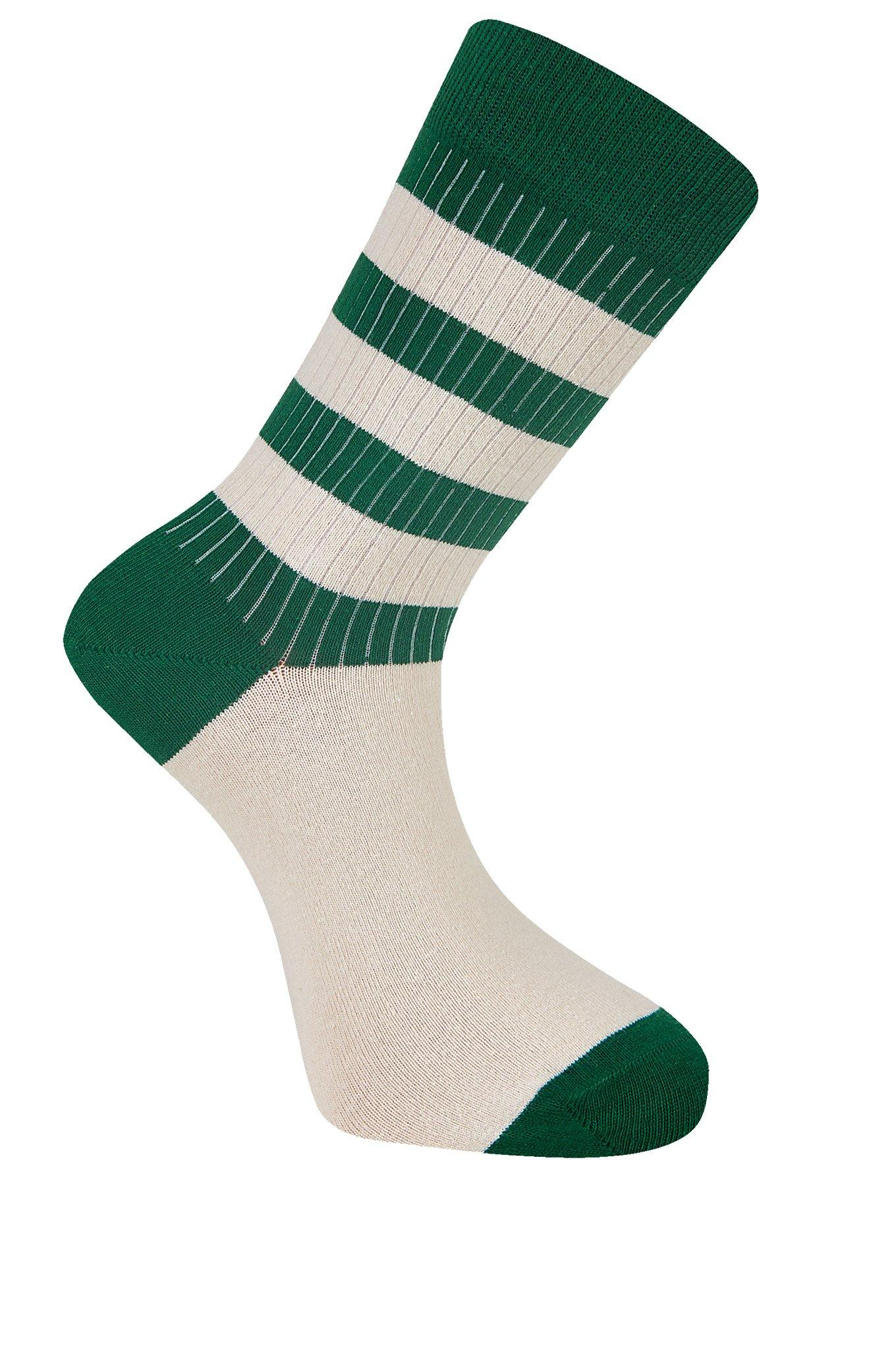 BRETON Emerald Organic Cotton Socks - Komodo Fashion