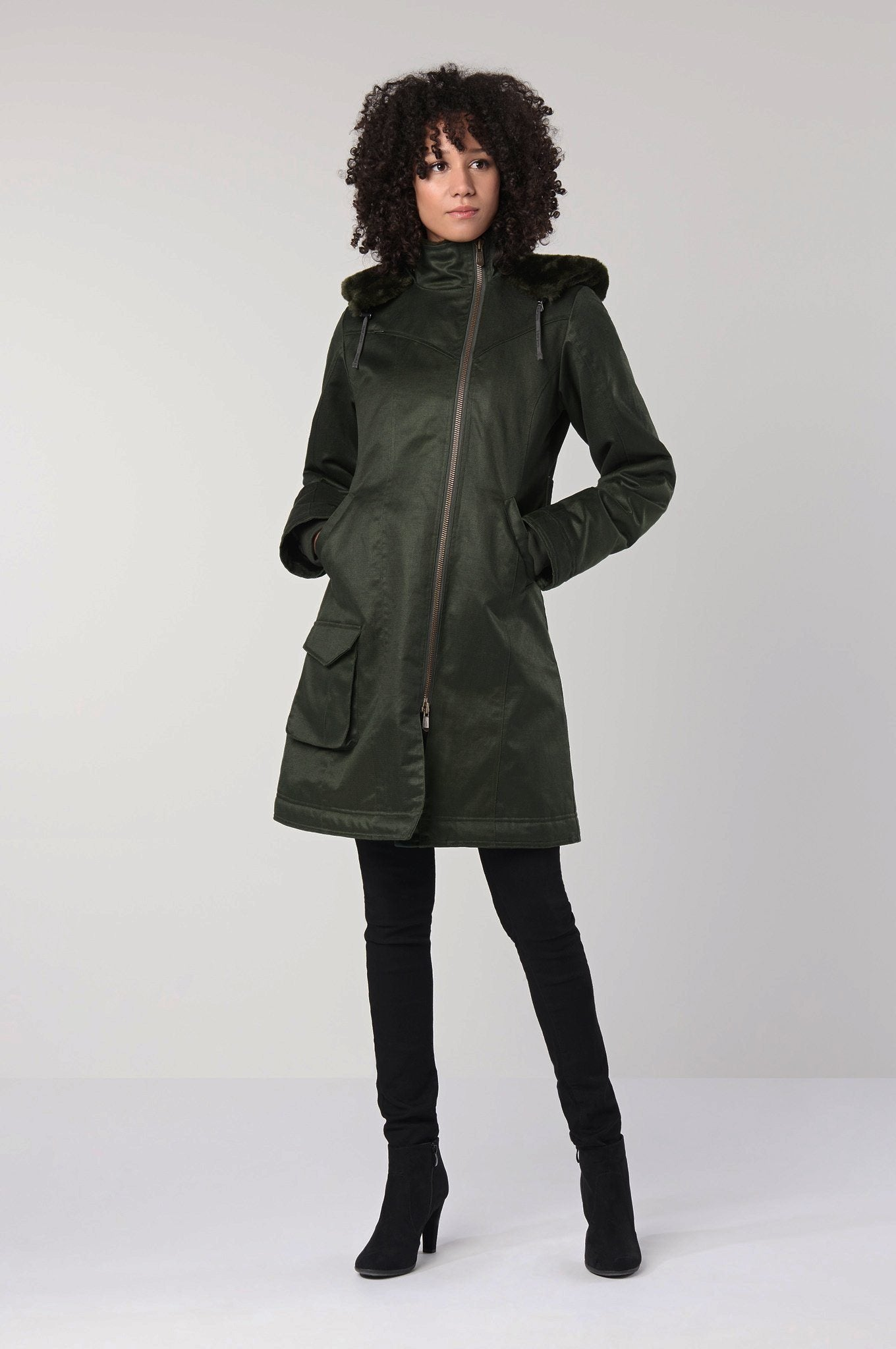 Coat - HEMP COAT Green