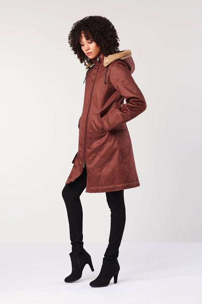 Coat - HEMP COAT Red