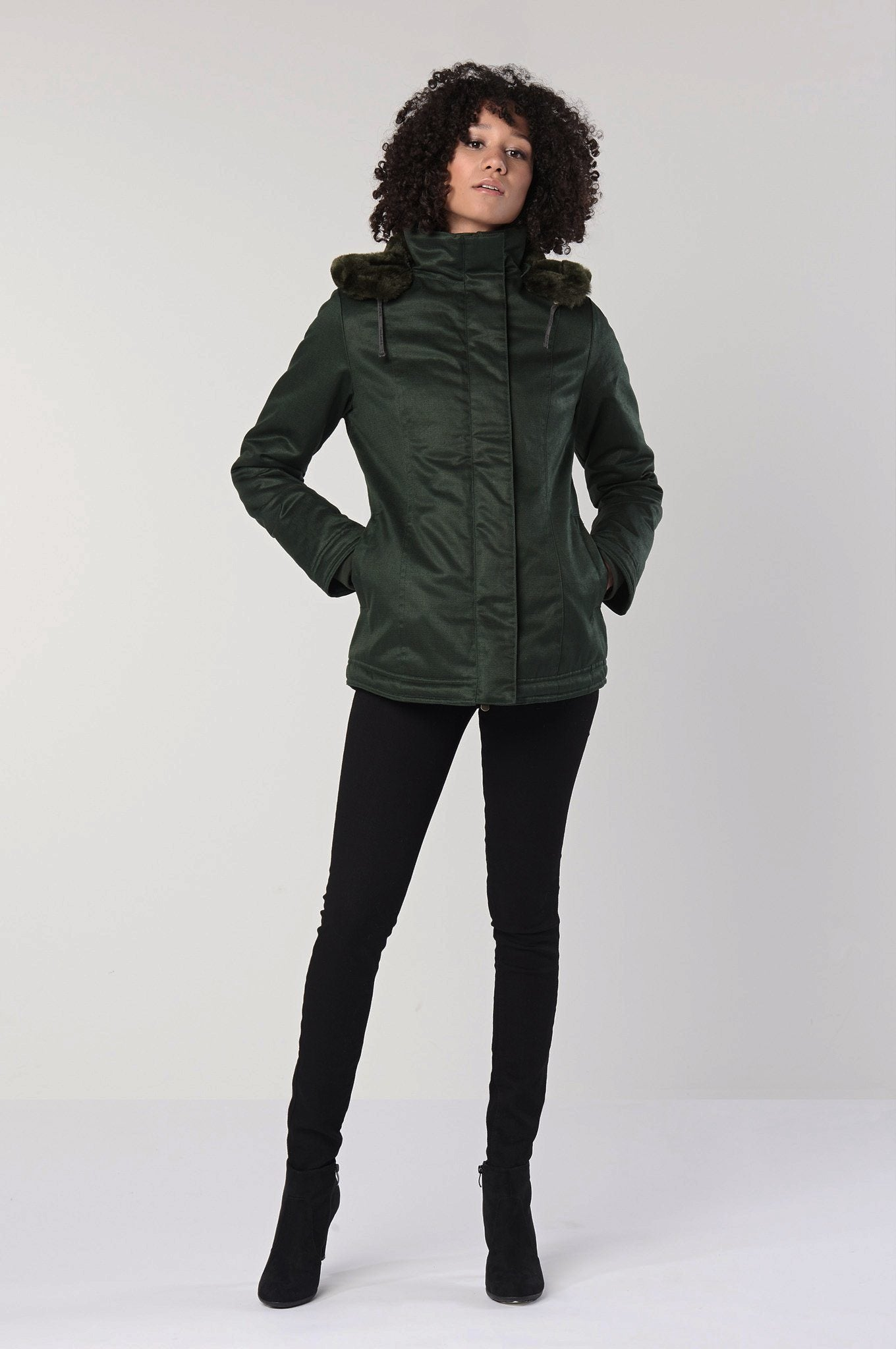 HEMP JACKET Green - Komodo Fashion