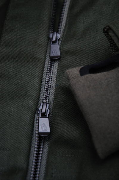 Coat - HEMP JACKET Green