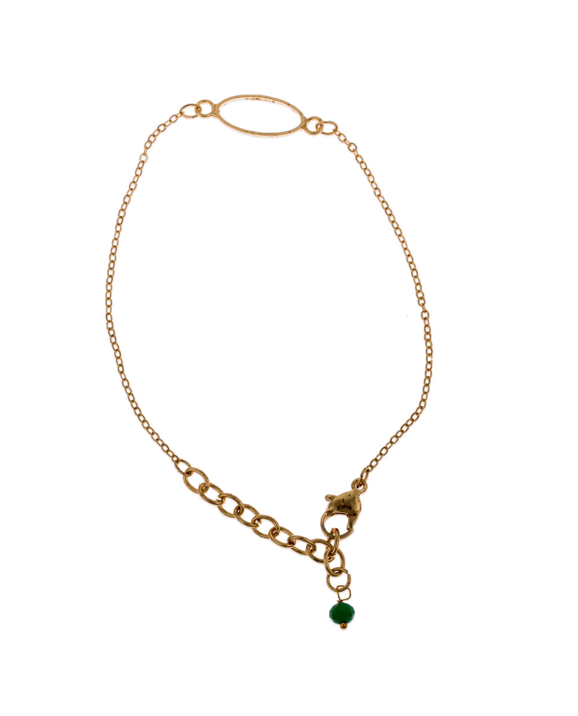 Dia Bracelet Green by Daughters of the Ganges