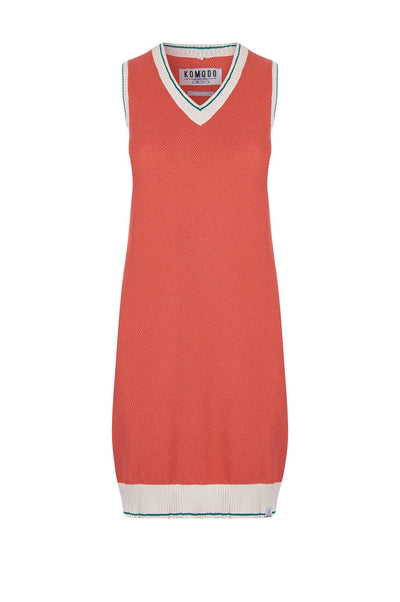 GRACE Organic Cotton Tank Dress Spice - Komodo Fashion