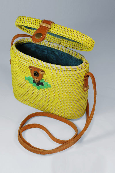 Handmade Bag CAMERA Lemon | KOMODO