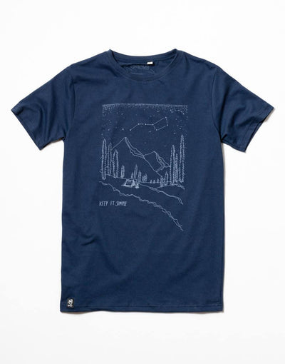 Basic Tee - Mountains by Zerum