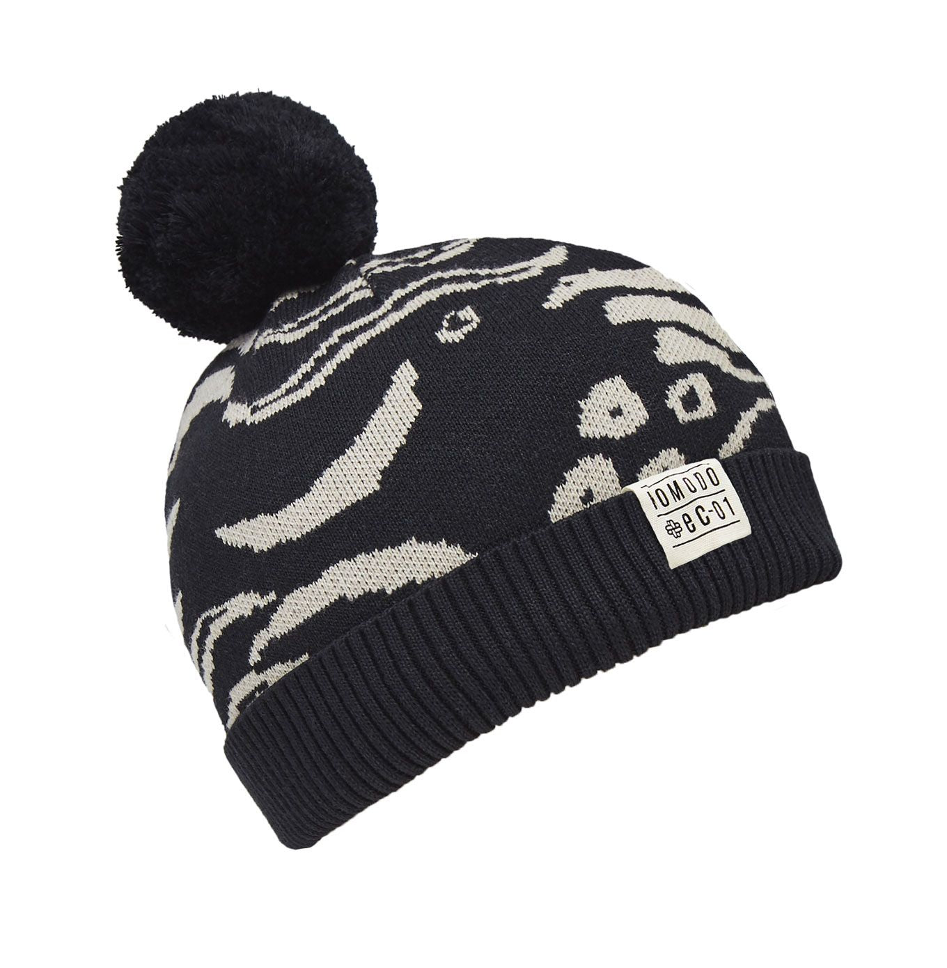 REBECCA - GOTS Organic Cotton Hat Black