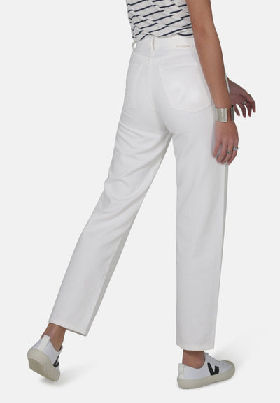 Libby White Organic Cotton Jeans - Komodo Fashion