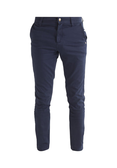 Jeans - MONKEE Mens Organic Chino In Night Sea