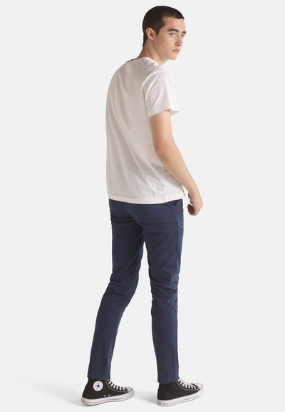 Navy Organic Cotton Chino - Komodo Fashion