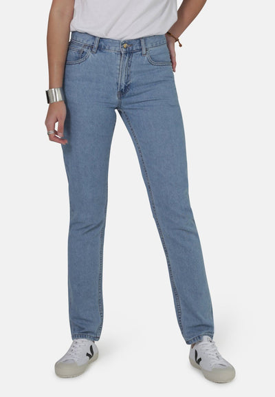 Jeans - MONKEE Womens Organic Jean Rebecca In Eco Wash