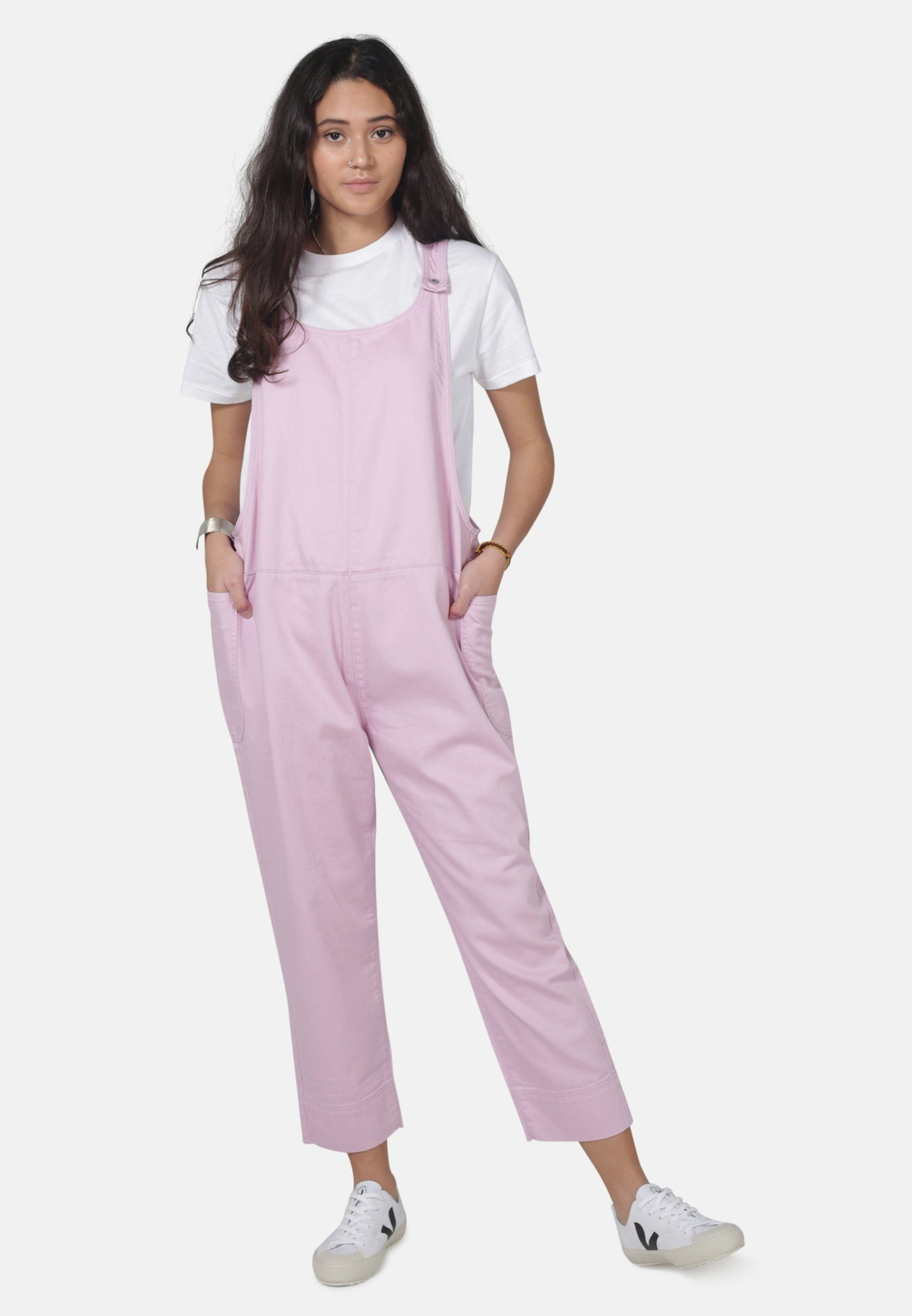 Sustainable Pink Denim Overalls | Organic Cotton | by MONKEE Genes