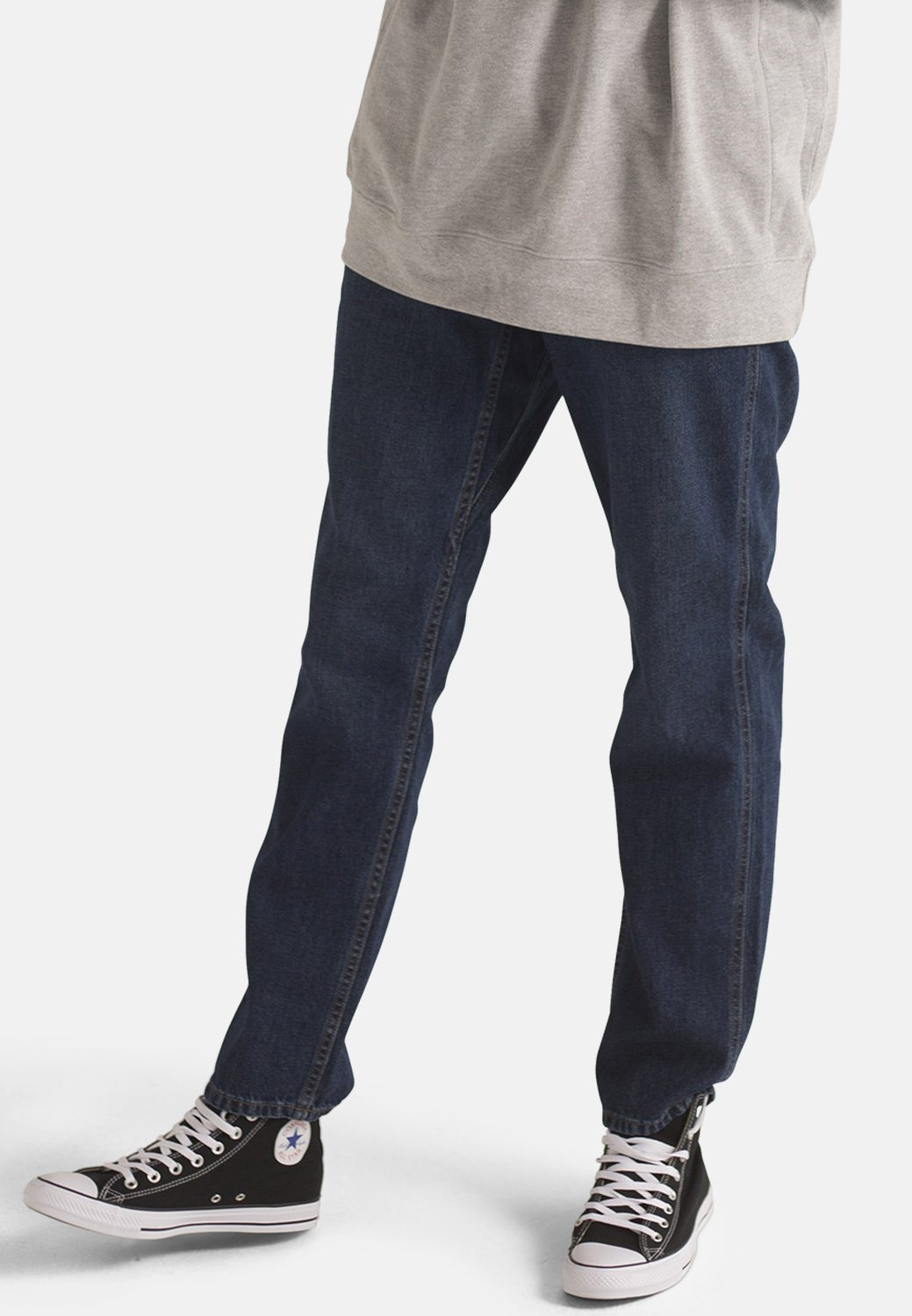 Dark Blue Denim Organic Jeans | Organic Cotton | by MONKEE Genes