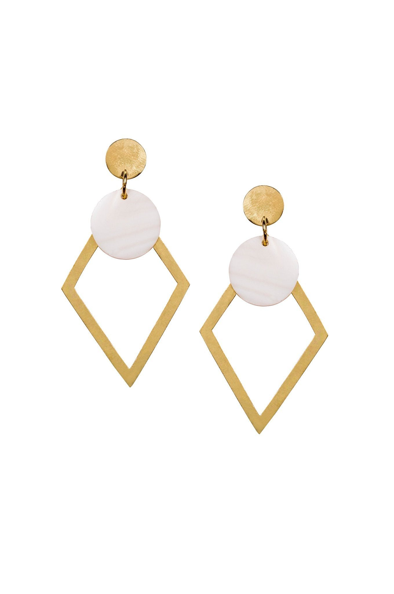 Arya earrings by Daughters of the Ganges - Komodo Fashion