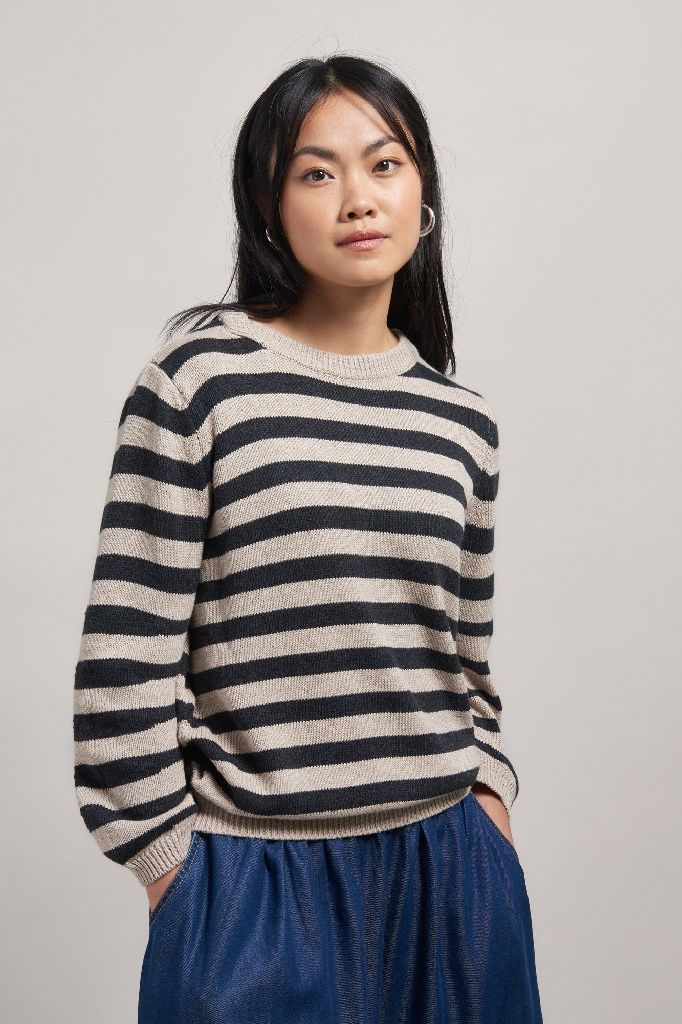 KAREN Organic Cotton Jumper - Komodo Fashion
