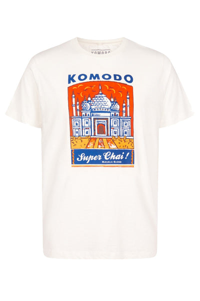 KIN SUPER CHAI Organic Cotton Tee - Komodo Fashion