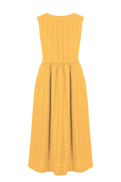 PRIMROSE Organic Cotton Dress Amber - Komodo Fashion