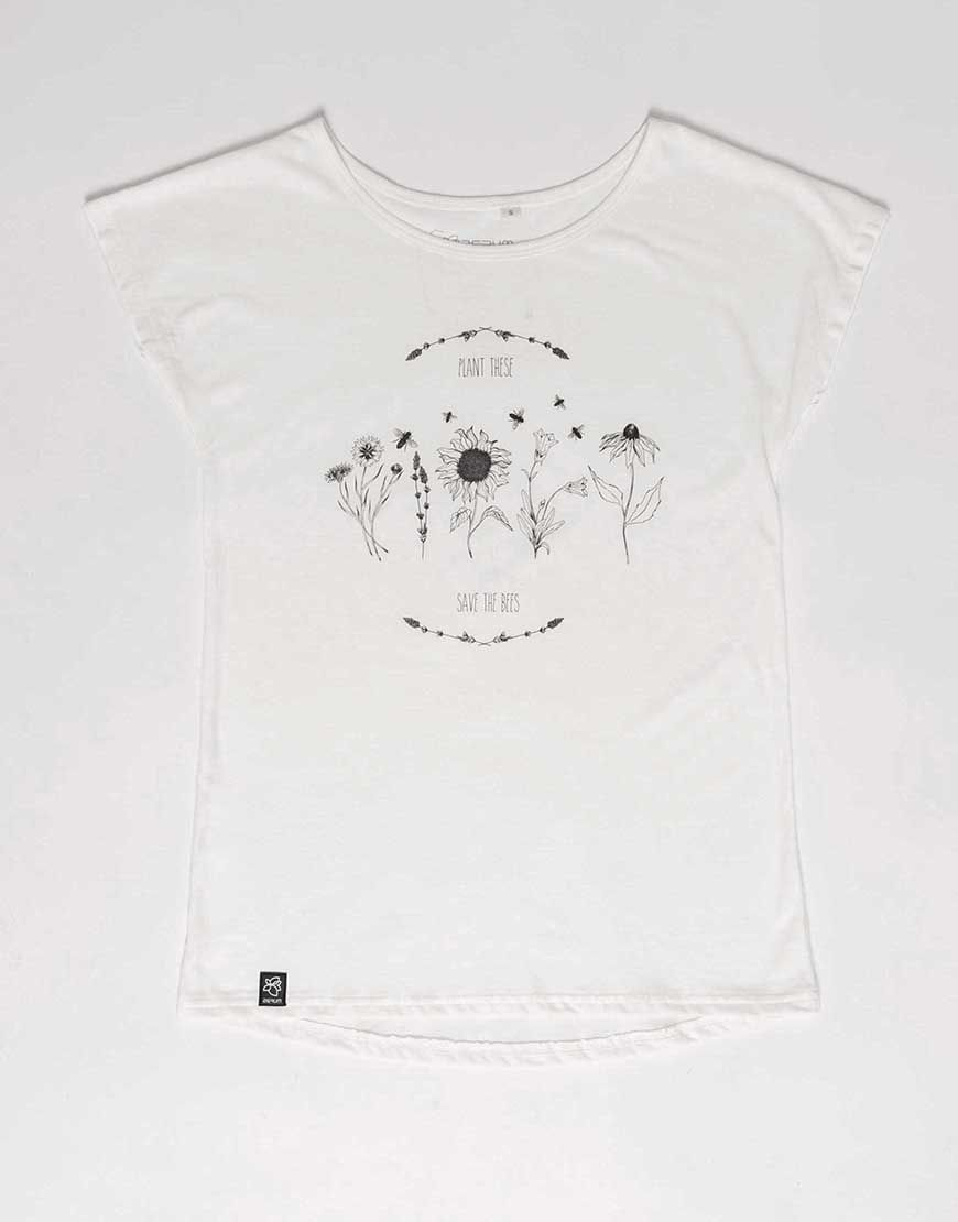 LEA Tee - SAVE THE BEES  by Zerum