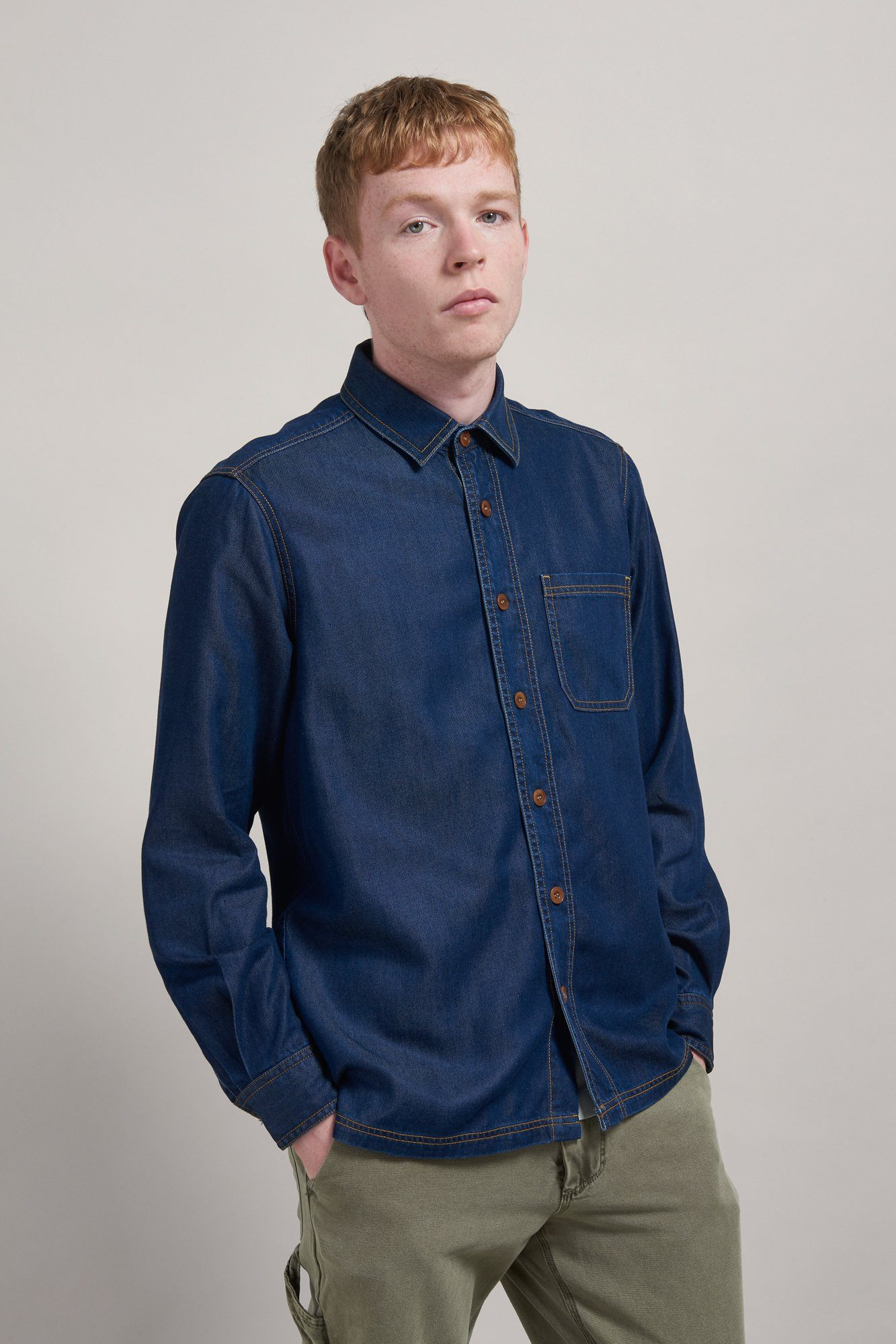 Shirt - STETSON Tencel Denim Shirt