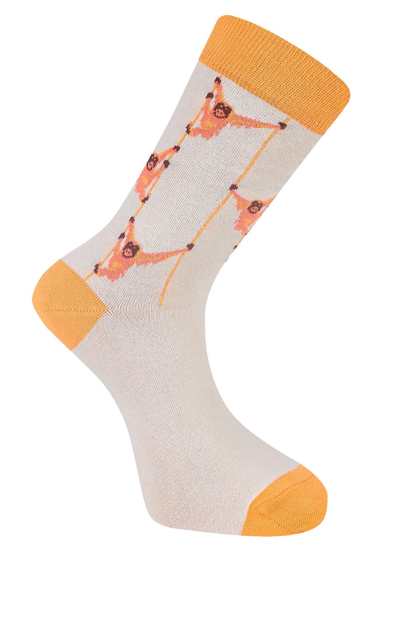 SOS Warm Sand Organic Cotton Socks - Komodo Fashion