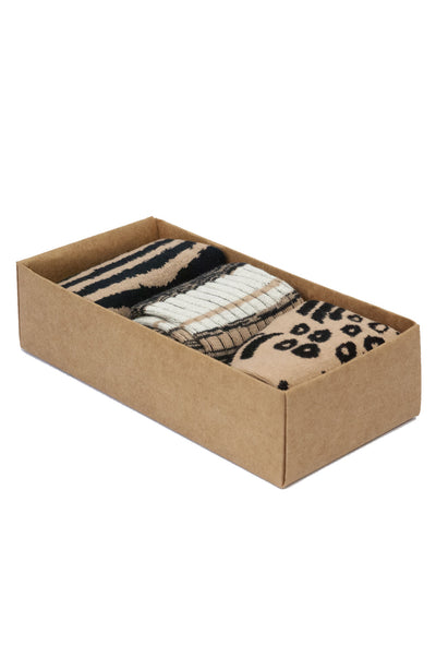 STRIPES Box Assorted - GOTS Organic Cotton Socks Set