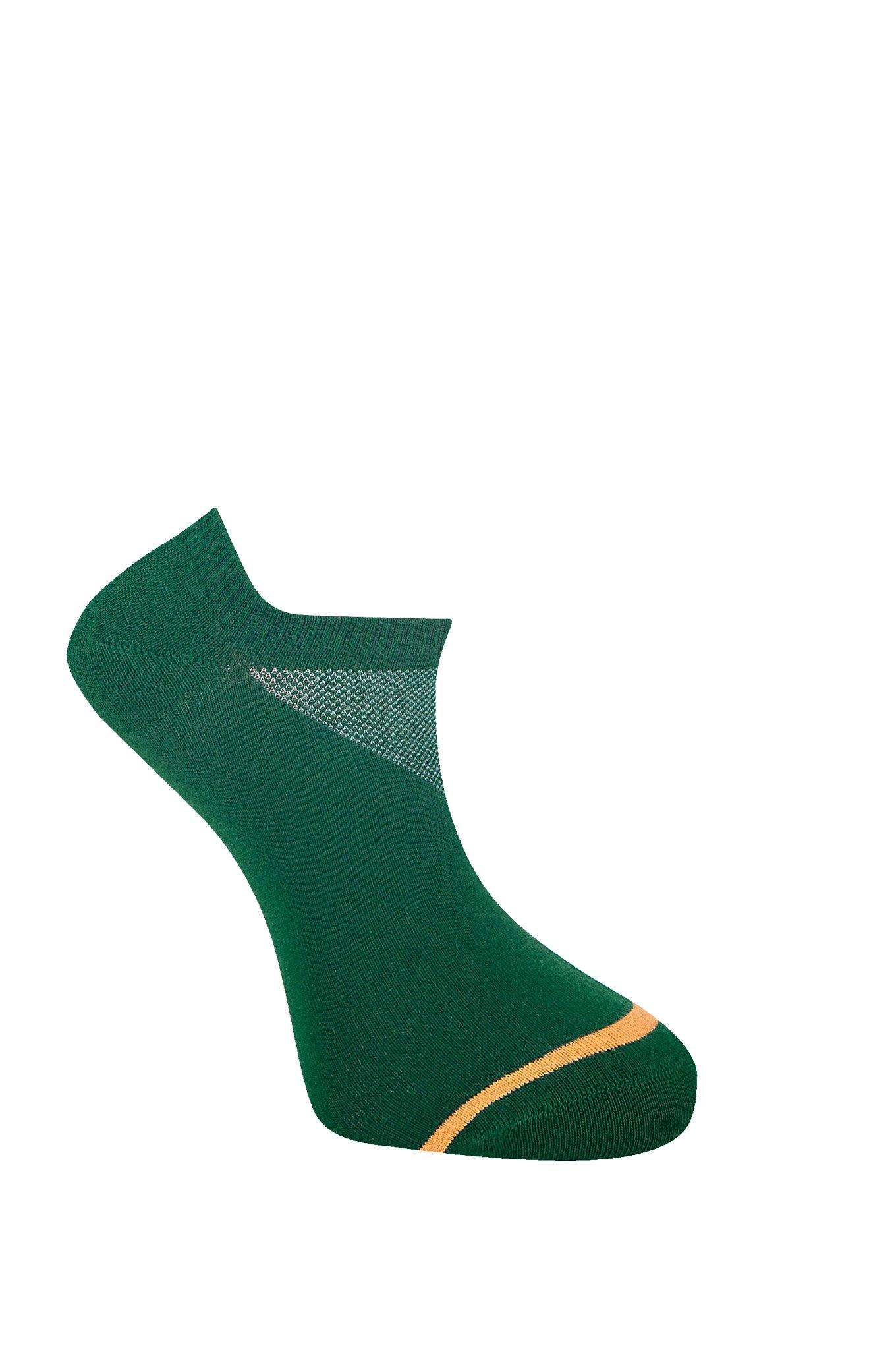SUN Emerald Organic Cotton Trainer Socks - Komodo Fashion