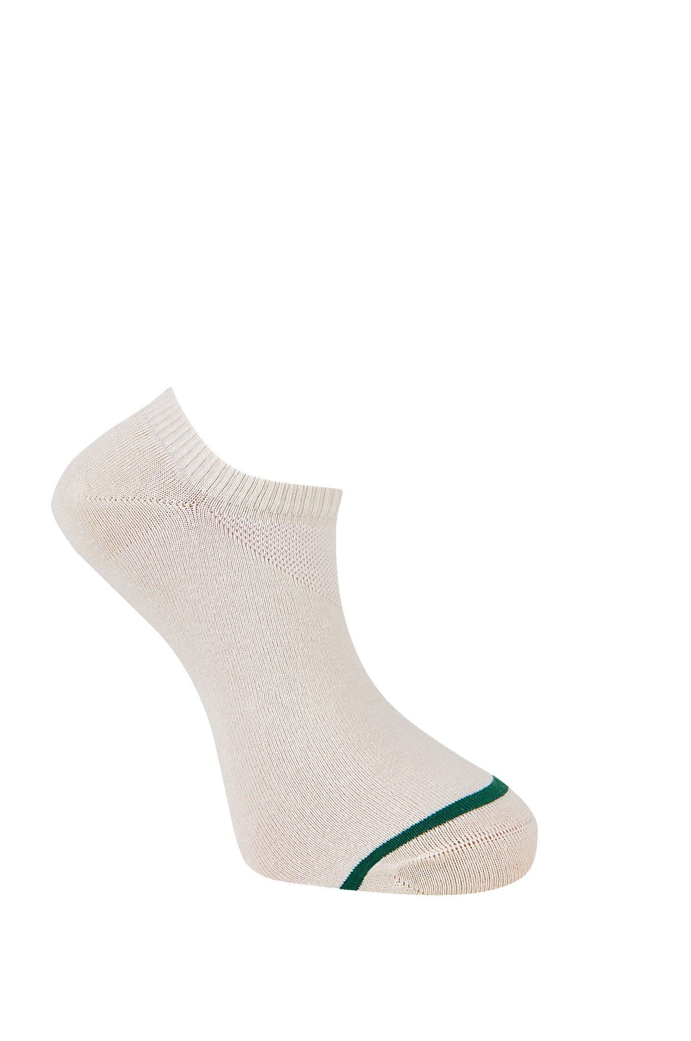 SUN Warm Sand Organic Cotton Trainer Socks - Komodo Fashion