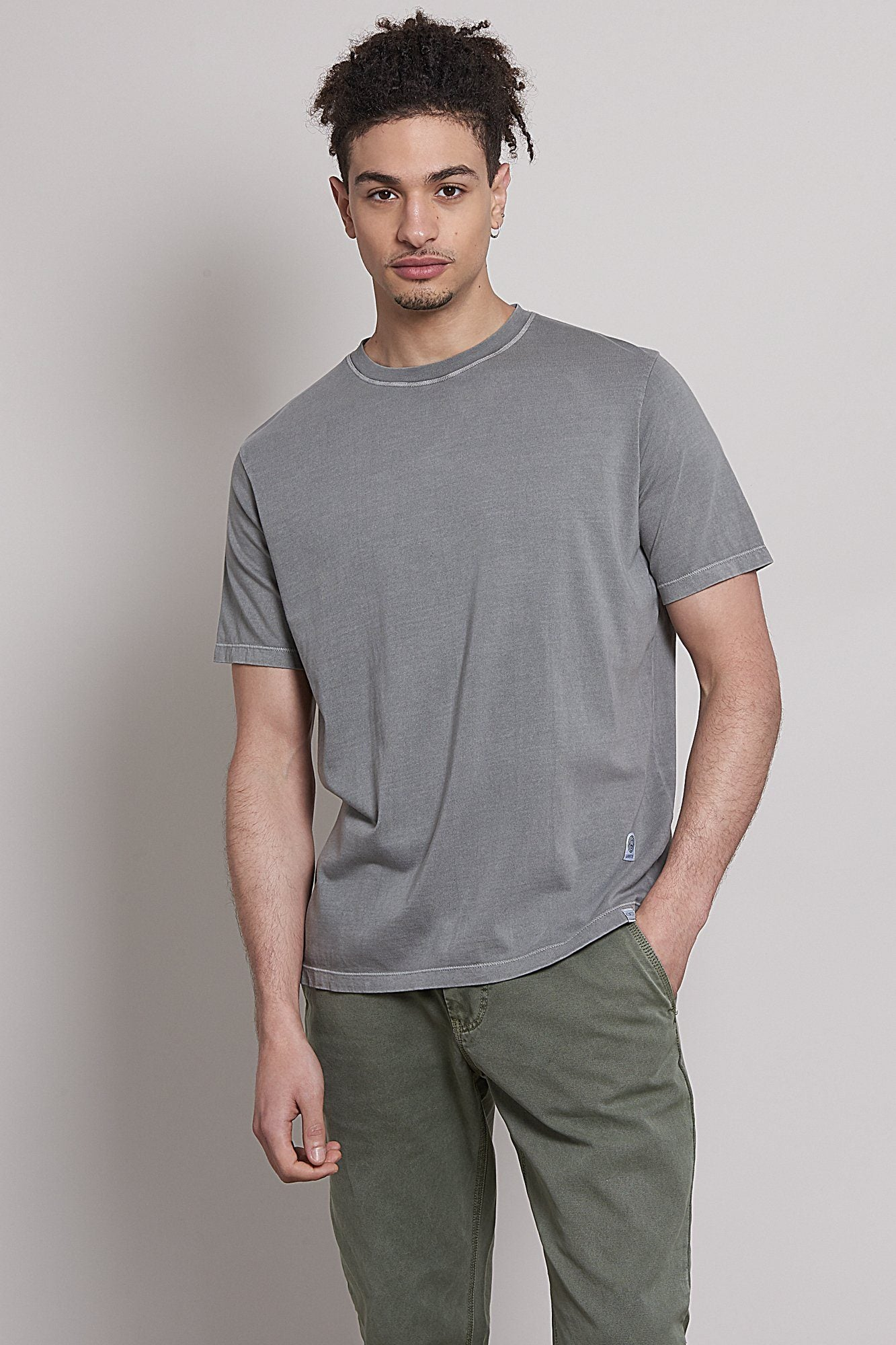 T-Shirt - KIN Organic Cotton T-Shirt Dove Grey