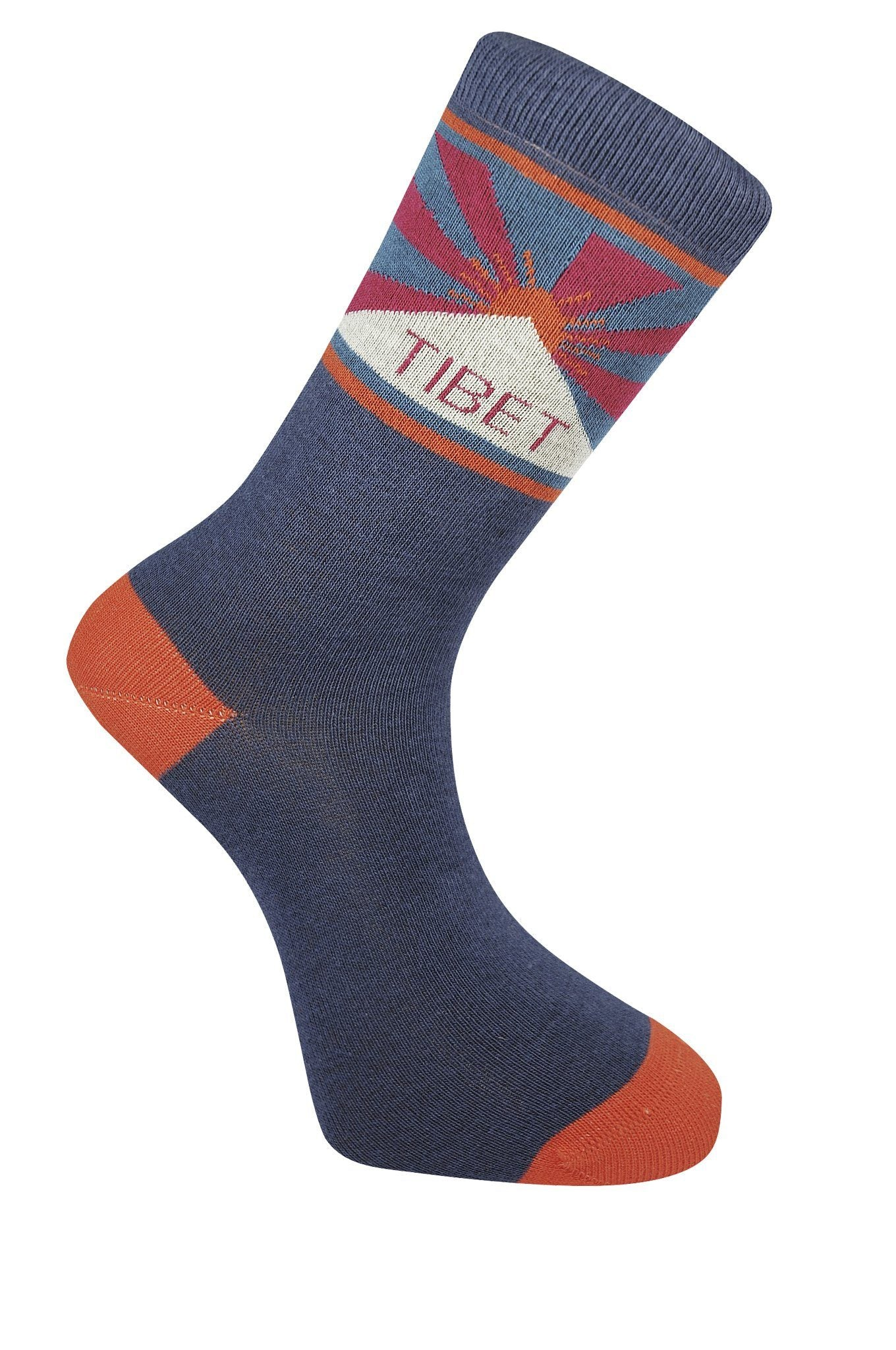 TIBET Ink Organic Cotton Socks - Komodo Fashion