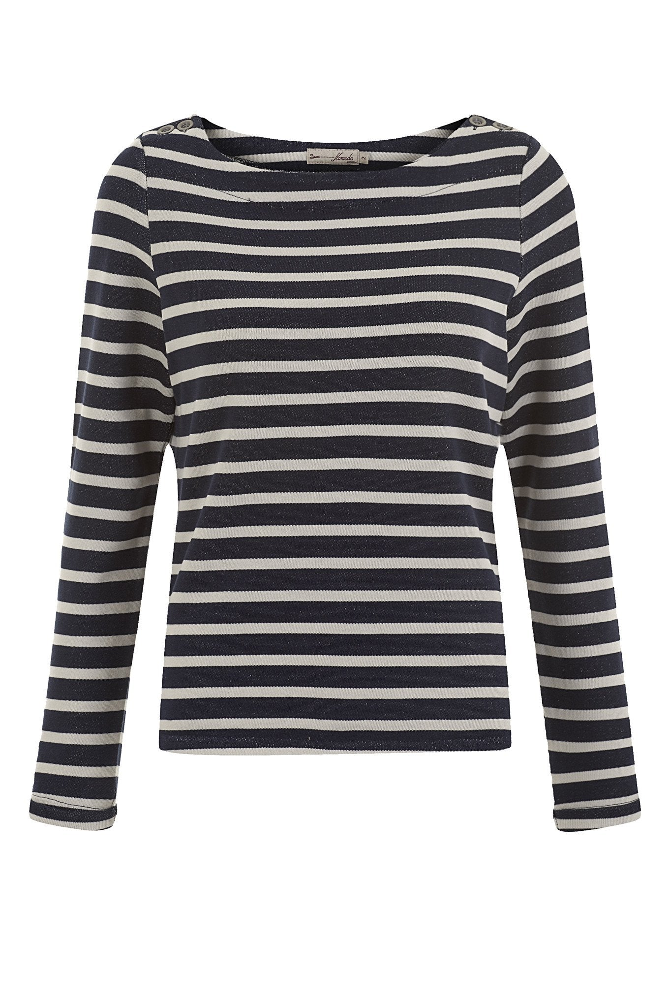 Top - FLORITA Organic Cotton Stripe Jumper