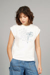 MANTRA ELEPHANT - GOTS Organic Cotton Tee Off White