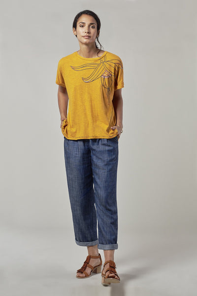 SUMAKO Oversized Hemp Top - Komodo Fashion