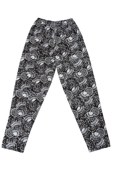 BATIK Trousers Black - Komodo Fashion
