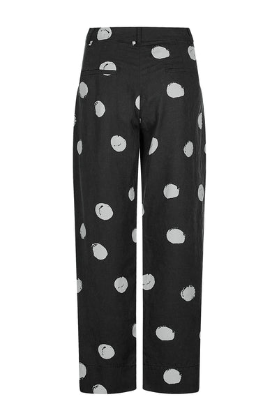 KUSAMA DOT Tencel Linen Trousers - Komodo Fashion