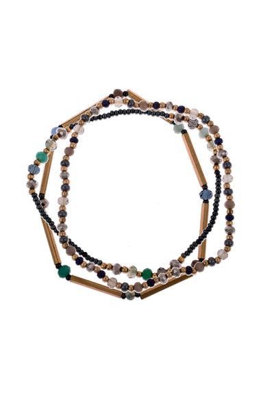 Esha bracelet, set of 3 by Daughters of the Ganges