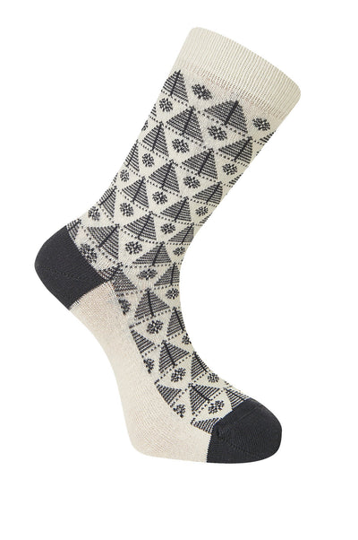 CHRISTMAS Tree Coal Organic Cotton Socks - Komodo Fashion