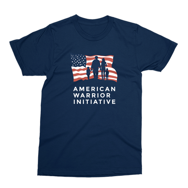 AWI Logo Shirt - Navy