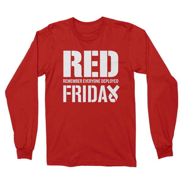 RED Fridays Long Sleeve T-shirt